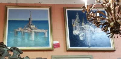 16D01 PAIR OF OIL RIG PAINTINGS.jpg