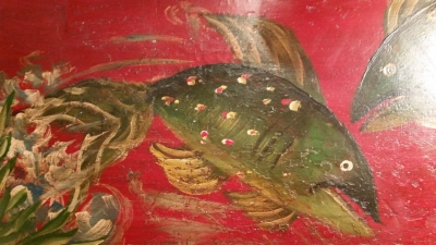 36-87338 FISH AND SHELL PAINTED DRESSER (2).jpg