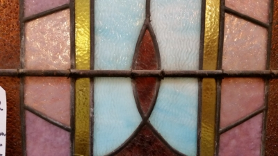 36-87432 TALL GOTHIC STAINED GLASS WINDOW 10.6 FT X 2 FEET (4).jpg