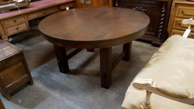 16D ROUND MISSION OAK TABLE (1).jpg