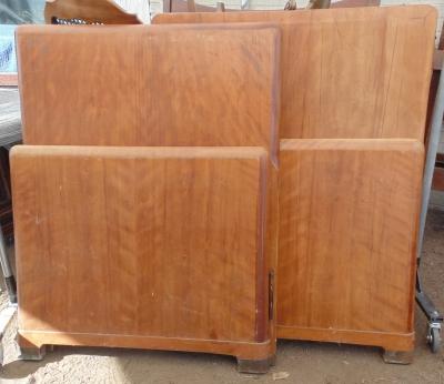 14A20150 PAIR MID CENTURY MODERN TWIN BEDS (3) - Copy.JPG