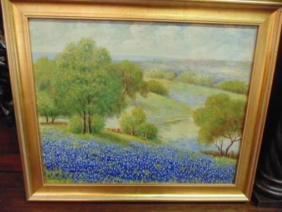 14a27451 Frank Lazzaro bluebonnets painting (2) - Copy.JPG