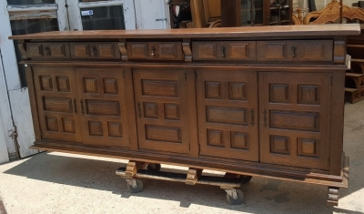 16G01045 RUSTIC HUGE PANELED SIDEBOARD (1).jpg