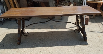 16G01054 RUSTIC IRON STRETCHER TABLE (2).jpg