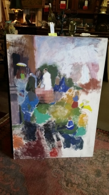 16G01011 UNFINISHED UNFRAMED PAINTING .jpg