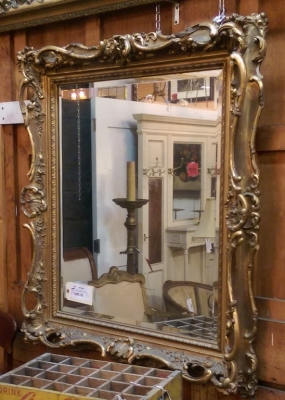 14F02405 AS IS GILT FRAMED MIRROR.jpg