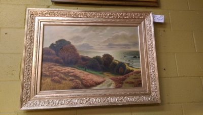 16H02600 CALIFORNIA LANDSCAPE WITH GOLD FRAME.jpg