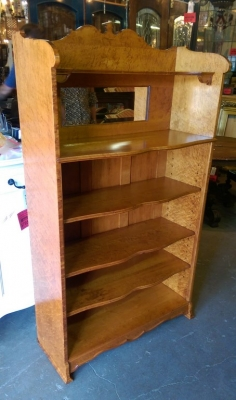 16H04004 SOLID BIRDSEYE MAPLE BOOKCASE (2).jpg