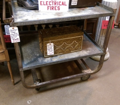 36-87807 VINTAGE INDUSTRIAL CART.jpg