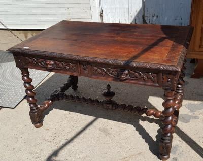 16H07007 BARLEY TWIST OAK LIBRARY TABLE (3).jpg