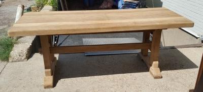 16H07049 RAW OAK TRESTLE TABLE (1).jpg