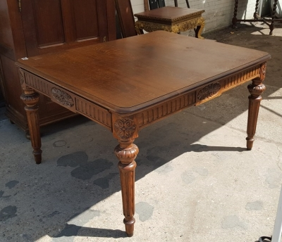 16H07061 OAK LOUIS XVI DINING TABLE (1).jpg