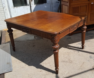 16H07061 OAK LOUIS XVI DINING TABLE (2).jpg