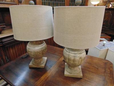 13L23571 PAIR NATURAL WOOD LAMPS (1).JPG