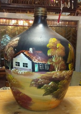 16H17012 PAINTED WINE BOTTLE.jpg