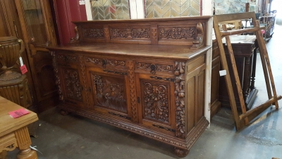 16H17024 HIGHLY CARVED OAK SIDEBOARD (3).jpg
