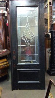 16H08 PAIR OF LEADED GLASS DOORS (1).jpg
