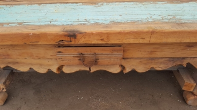 16I02090 HEAVY MEXICAN PINE CONSOLE WITH SPUR HANDLE (5).jpg