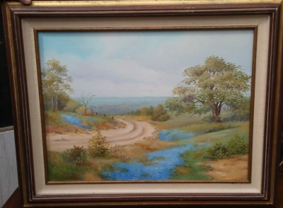 16I03002 TEXAS BLUEBONNET OIL PAINTING BY VIRGINIA HERD.jpg