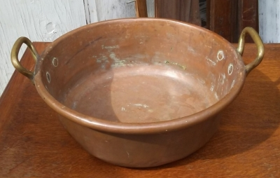 16I03016 COPPER AND BRASS HEAVY COFITURE PAN (2).jpg
