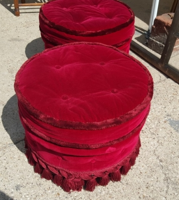 16I15044 PAIR OF RED OTTOMANS (2).jpg