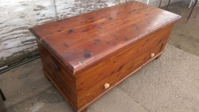 16I08211 LARGE CEDAR CHEST WITH DRAWER.jpg