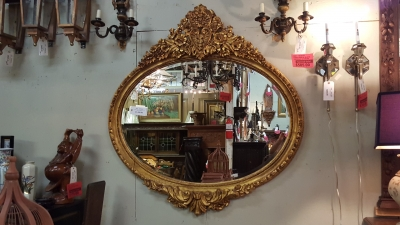 16F22504 GILT WOOD BUFFET MIRROR.jpg