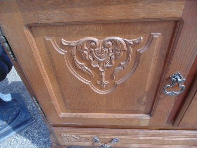 14D22017 COUNTRY FRENCH CABINET