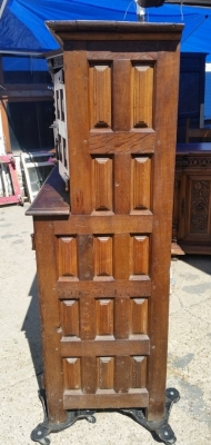 16J05019 SMALL RUSTIC STEP-BACK CABINET WITH PANELS (2).jpg