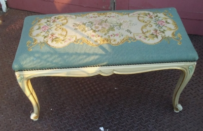 16J05070 PAINTED NEEDLE POINT BENCH.jpg