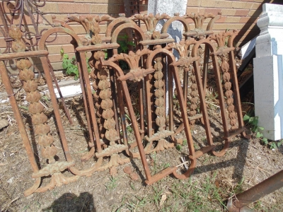 14D21118 AND 14D21158 IRON ORNATE PANELS