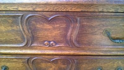 SOLD        14D22026 FRENCH FOUR DRAWER CHEST