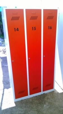 14D22006 LARGE METAL LOCKER