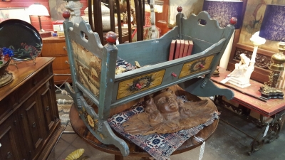 36-PAINTED BABY CRADLE.jpg