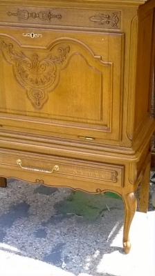 14D22016 COUNTRY FRENCH BAR CABINET