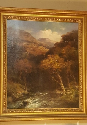 SIGNED LANDSCAPE OIL PAINTING BY MELROSE.jpg