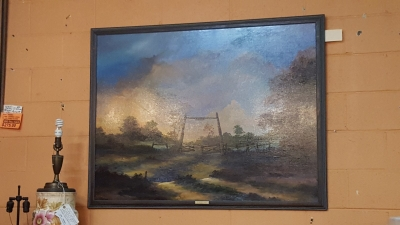SIGNED LANDSCAPE PAINTING BY TEXAS ARTIST (1).jpg