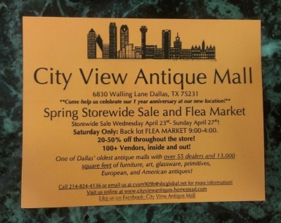 City View\'s Sale and Flea Market
