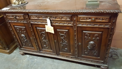 16I25017 CARVED SPANISH SIDEBOARD $550.jpg