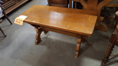 14H08044 RUSTIC OAK BENCH $85.jpg
