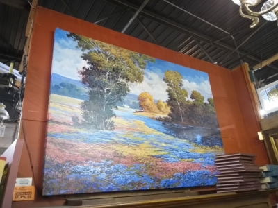 17A HUGE BLUEBONNET OIL PAINTING 6 FEET X 8 FEET.jpg
