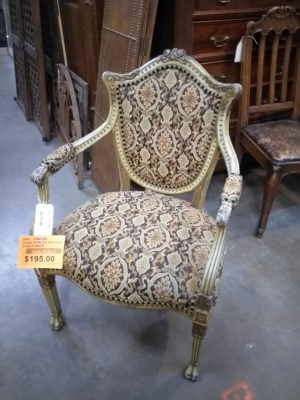 17B27805 PAINTED SHIELD BACK CHAIR $195.jpg