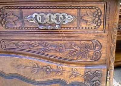14E01011 FRENCH SERVER WITH BREAD BOX FINELY CARVED (1).jpg
