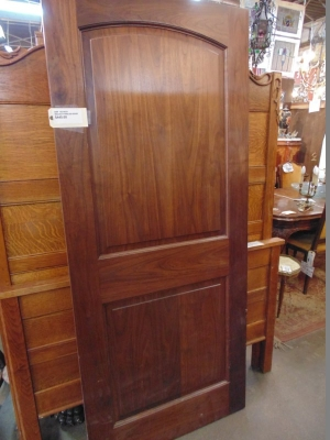 13C18221 AND 222 WALNUT RAISED PANEL DOORS 1 OF 2.JPG