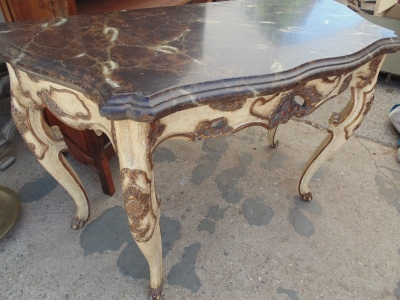 13F17248 FAUX MARBLE LARGE CONSOLE TABLE (3).JPG