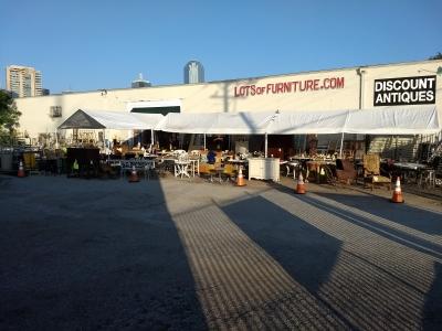 View the album Store Wide Sale and Parking Lot Tent Liquidation Sale