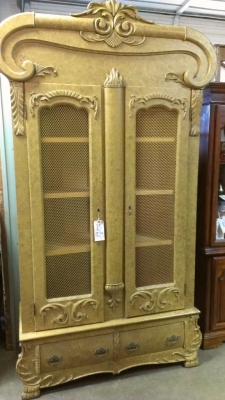 sold  13i30100 american armoire with shelves $245.00 that\'s a steal!