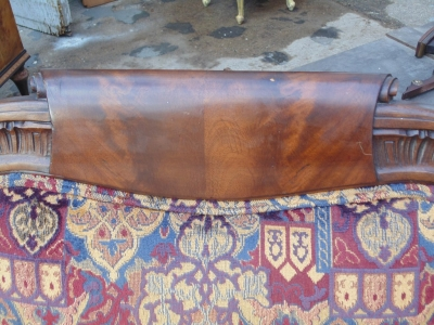 14B04013 CARVED ARM CHAIR (2)