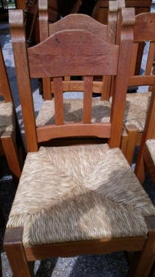 14E RUSTIC CHAIR SET