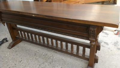 14E SPANISH STYLE CONSOLE OR SOFA TABLE